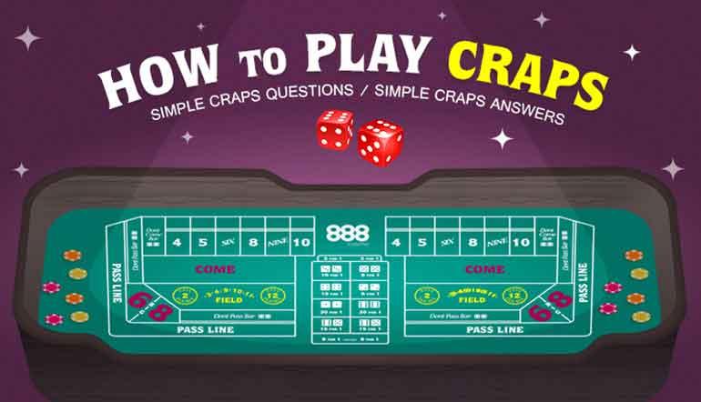 Craps odds bet chart